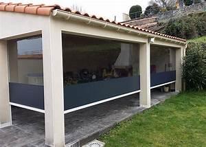 Store électrique Terrasse : b ches toiles et stores pour terrasses et pergolas nantes ~ Premium-room.com Idées de Décoration