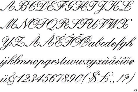 identifont kuenstler script