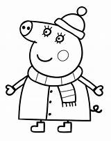 Pig Peppa Coloring Pages Printable Mummy Anywhere Won Mama sketch template