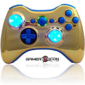 Gold Xbox 360 Controller