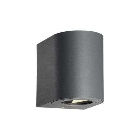 nordlux canto led 2 light outdoor up and down wall fixture
