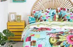 Parure De Lit Desigual : 15 best desigual linge de lit images on pinterest bedding beds and comforters ~ Melissatoandfro.com Idées de Décoration