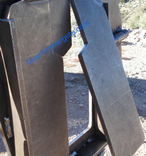 steel shooting targets hitman silhouette target