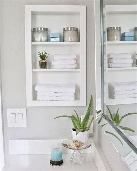 25 Best Builtin Bathroom Shelf And Storage Ideas For 2018