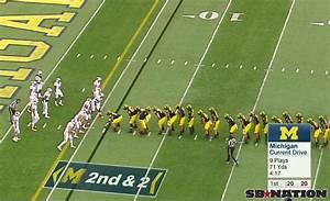 Michigan Wolverines' 10-man centipede formation has now ...
