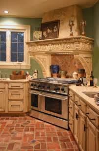 Kitchen Brick Floor