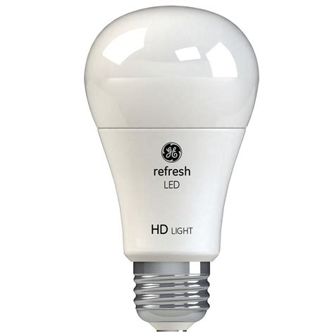 ge  equivalent daylight  high definition  dimmable led light bulb  pack