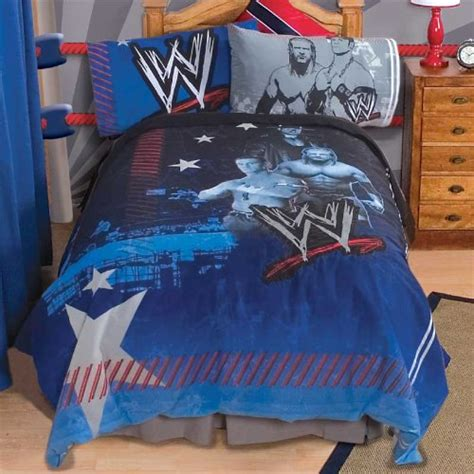 cheap wwe wrestling bedding set twin john cena comforter