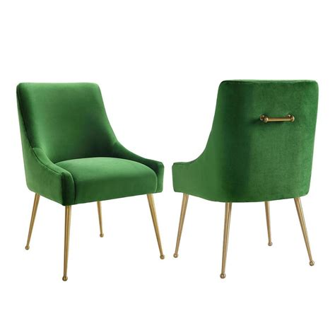 gold accent table canada tov furniture beatrix green velvet side chair the