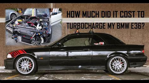 cost   turbocharge  bmw