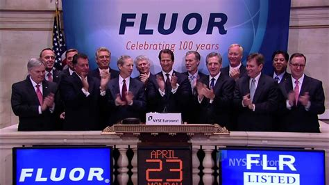 Fluor Corporation celebrates its 100-year anniversary and ...