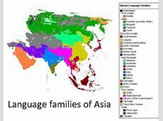 Carte de l'Asie Différentes cartes à thèmes sur l'Asie