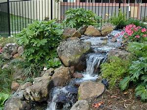 Backyard landscaping ideas water features thorplccom also for Backyard water features for small yards