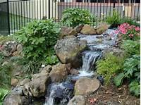 landscape water features Alexander Sons Water Feature Fall Landscaping Services Portfolio - DMA Homes | #652