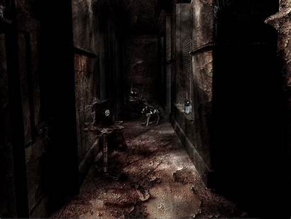 Horror Dark Wallpapers Backgrounds Scary Maze Cold