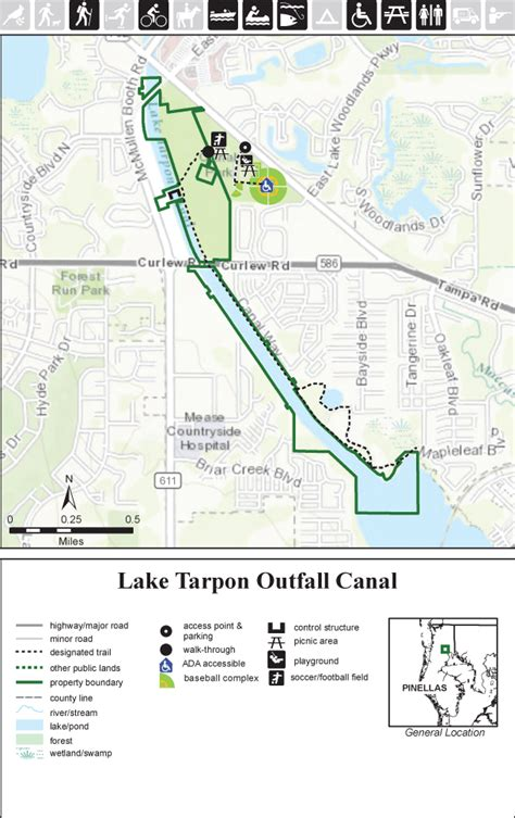 Pinellas County Florida Boat Registration by Lake Tarpon Outfall Canal Swfwmd