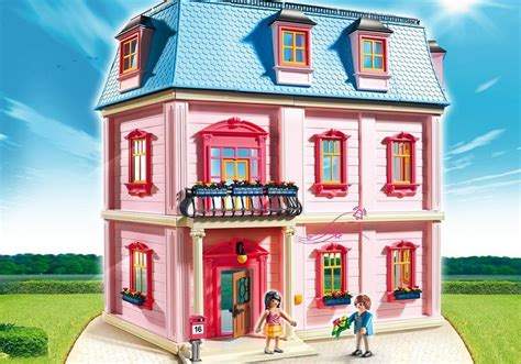coiffeuse chambre fille maison traditionnelle 5303 playmobil