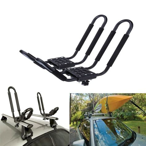 kayak racks j bar rack hd kayak carrier canoe boat surf ski roof top
