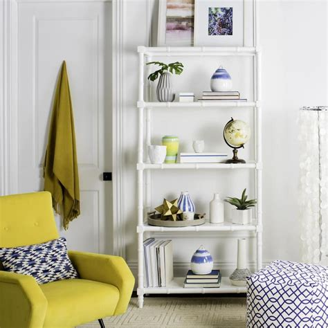White Etagere by Shop Safavieh Ebo White Etagere At Lowes