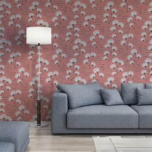Papier Peint Japonisant : papier peint rose cotonnier style japonisant missprint ~ Premium-room.com Idées de Décoration