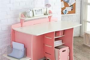 Bureau Fille Rose : bureau pour fille rose ~ Teatrodelosmanantiales.com Idées de Décoration