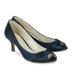 satin wedding shoes pink paradox navy blue satin shoes wedding shoes bridal accessories