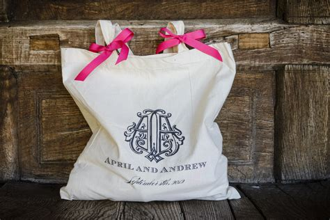 Gift Bags For Guests & Bridesmaids