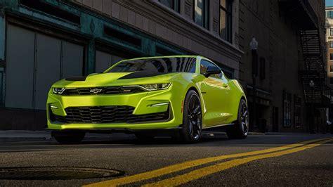 2019 Chevrolet Camaro SS in Shock Yellow Preps for SEMA ...