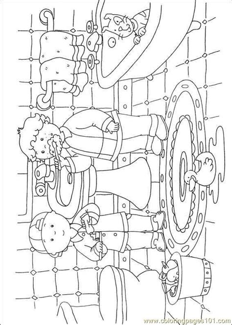 caillou coloring pages  coloring page  caillou