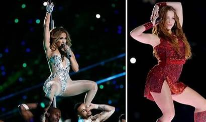 Bowl Shakira Lopez Jennifer Half Mvp Fans