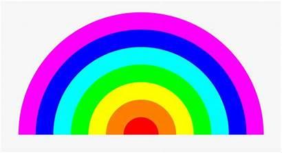 Rainbow Colors Clipart Circle Sunlight Cartoon Netclipart