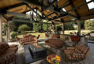 large covered outdoor living space remodel mcadams With tips making outdoor living spaces