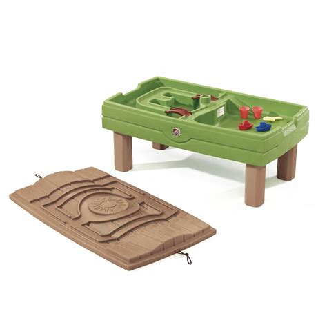 play day sand and water activity table naturally playful sand water activity center kids sand
