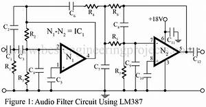 audio filter circuit best engineering projects With fsk filter circuit