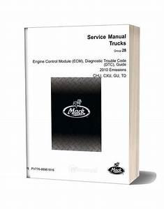 Man Ecm Dtc Truck Guide Manual  Actros Etc