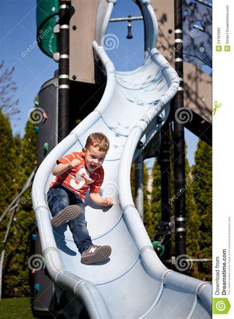 boy   playground  stock  image