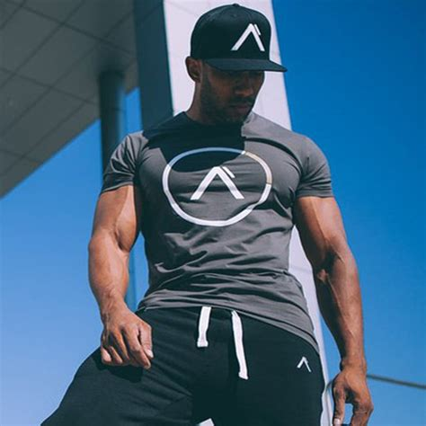 summer style cotton sleeve t shirt fitness bodybuilding shirts crossfit brand