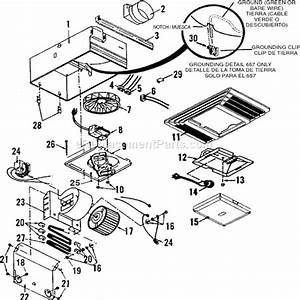 Broan parts list and diagram ereplacementparts