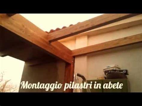 Montaggio Tettoia In Legno by Montaggio Di Una Tettoia In Legno