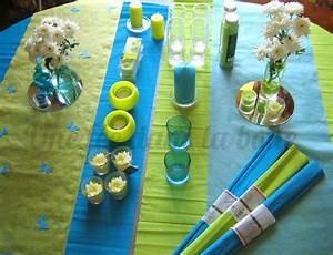 vert anis et turquoise une deco quotfraicheur marinequot une With association de couleurs avec le gris 17 decoration dun buffet antillais