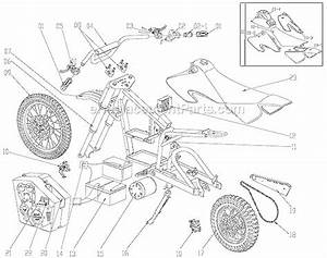 Razor Mx500 Parts List And Diagram   Ereplacementparts Com