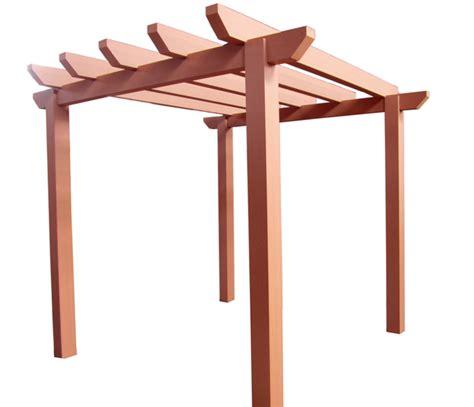 pergola en bois pergola en bois de composite ezdeck gsq 1 855 477 8873