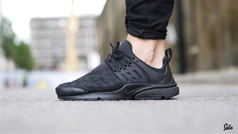 woven black is the nike air presto woven black the most stylish design