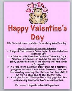 Third Grade Thinkers: Happy Valentine's Day Giveaway