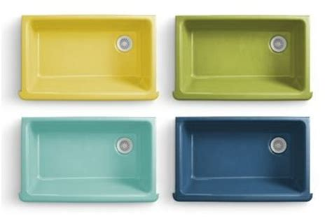 colored sinks kitchen flower power kitchen and bathroom sinks new from kohler 2333