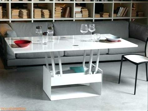 Table Salon Transformable En Table Salle A Manger