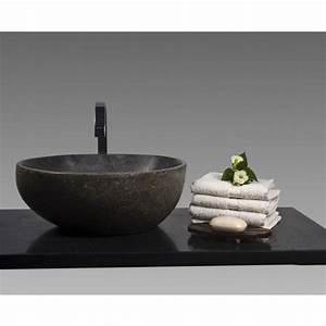 Waschbecken 40 Cm : naturstein waschbecken 40 cm poliert bei wohnfreuden kaufen ~ Indierocktalk.com Haus und Dekorationen