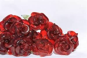 Rose In Glas : buy a custom dozen glass roses flower long stemmed untamed rose red made to order from untamed ~ Frokenaadalensverden.com Haus und Dekorationen