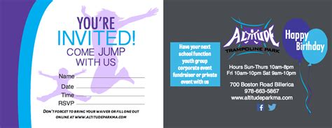 Trampoline Birthday Parties at Altitude! - Altitude ...