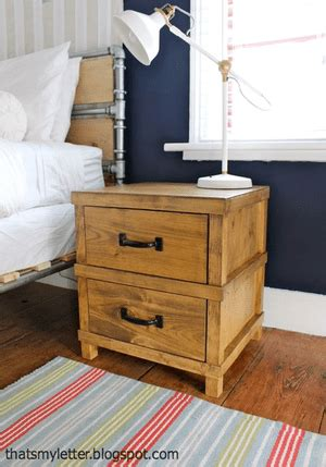 diy nightstand plans   completely